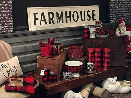 Farmhouse Visual Merchandising for Sophisticates