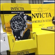 Invicta Invincible Yellow Pick Card Motif