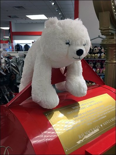 Macys Believe Backstage Polar Bear