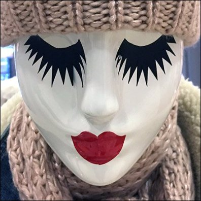 Christmas Mannequin Mascara At Macy's