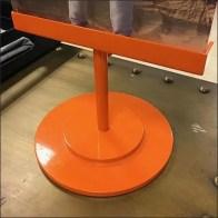 Macys Tommy Hilfiger Brilliant Orange Table-Top Sign Feature