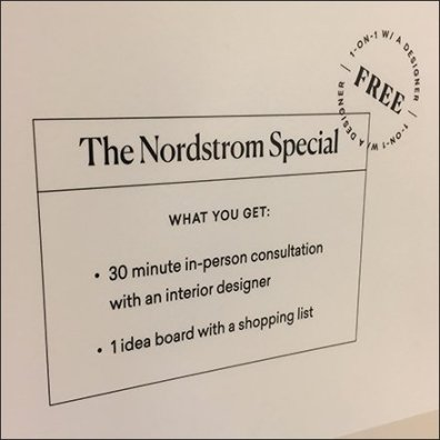 Nordstrom We Design Real Interior Spaces