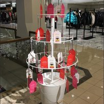 Miracles Start Here Conical Christmas Tree