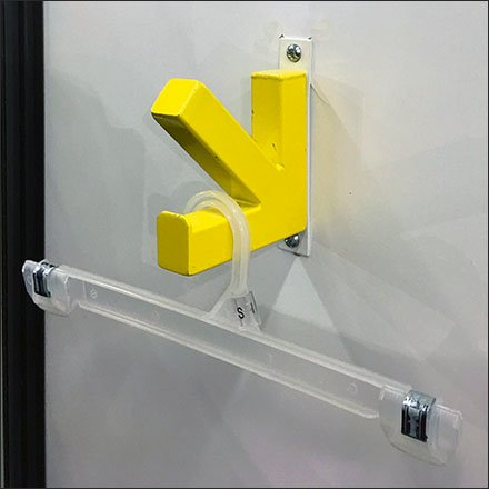 Fitting Room Arrow Designer Clothes Hook