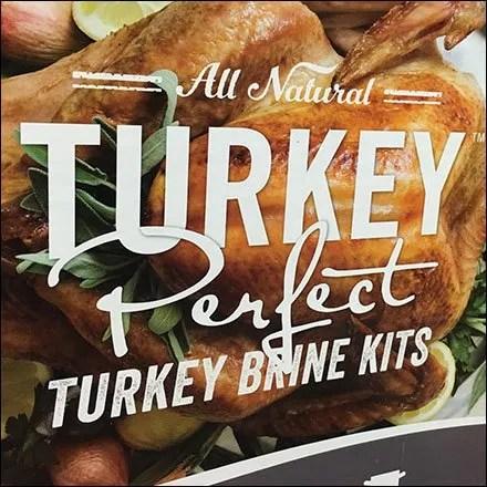 Perfect Turkey Seasoning Brine Kit Display