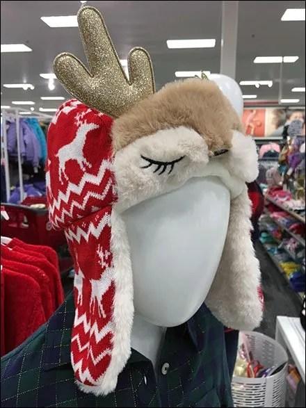 Reindeer Cap Hero for Cat and Jack