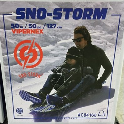 Double Helping Sno-Storm SledMerchandising