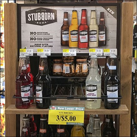Stubborn Soda Freestanding Wood Rack