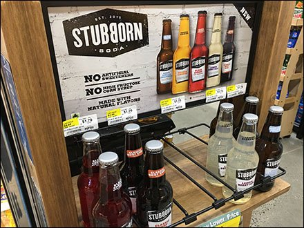 Stubborn Soda Freestanding Wood Rack Main2