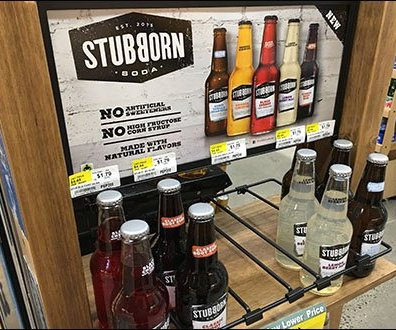 Stubborn Soda Freestanding Wood Rack Main2