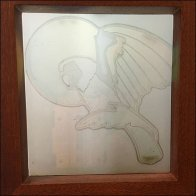 Tommy Bahama Water-Marked Stained Glass Feature