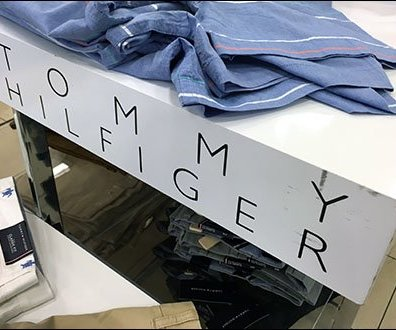 Tommy Hilfiger Branding An Obvious Edge