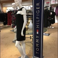 Tommy Hilfiger Branded Tower Sign Support