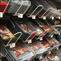 Bakeware Declined Gondola Rack Outfitting