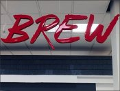 Kitchen Electronics Signs Blend And Brew
