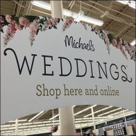 Do-It-Yourself Wedding Aisle Flyover Sign