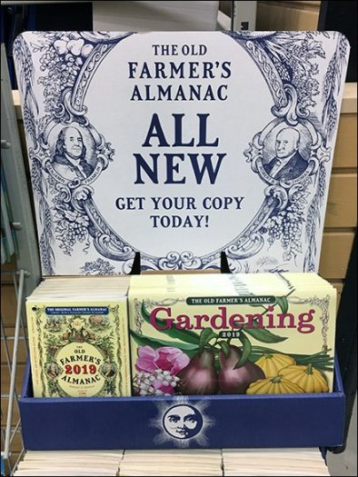Farmer's Almanac Prognostications Now On Sale