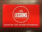 Free Guitar Lesson Gift Card Promotion