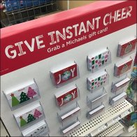 Give Instant Cheer Gift Card Board At Michaels