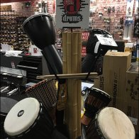 Drum Tree Merchandising Floor Stand