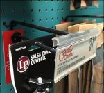 Cowbell All-Wire Scan Hook for Pegboard