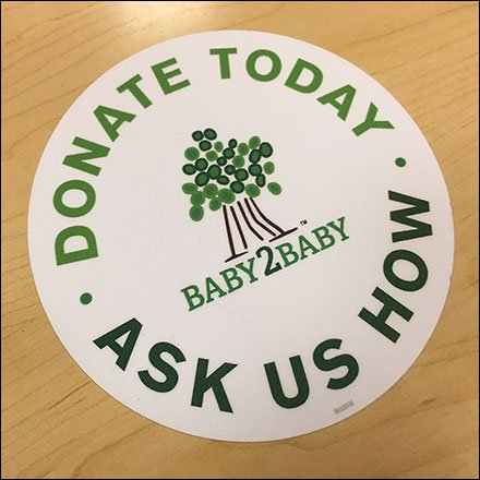 Baby2Baby Charitable Contributions at Gymboree