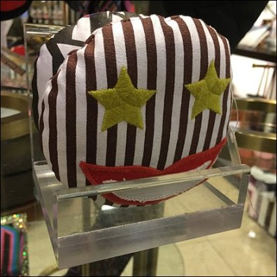 Henri Bendel Plush Emoji Acrylic Stand Feature