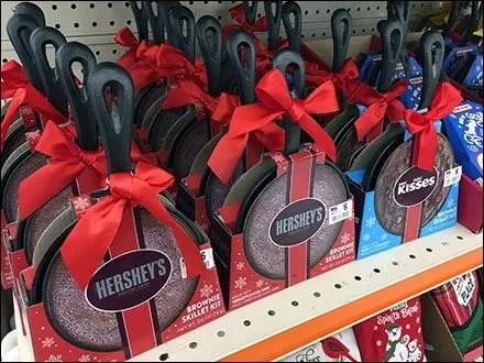 Hershey's Brownie Kit Skillet Merchandising