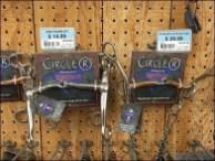 Horse Bit Branded Pegboard Hook Display