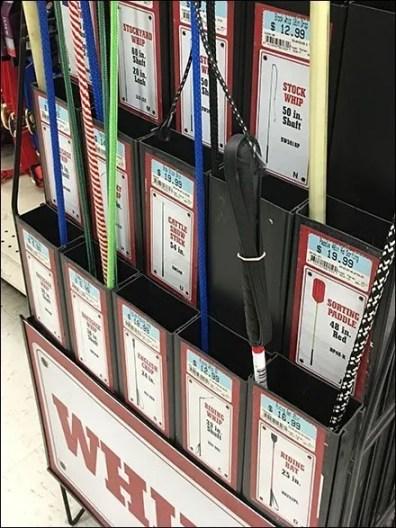 Horse Whip Sale Freestanding Sidekick Display