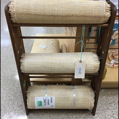 How To Roll Merchandise Chair Caning