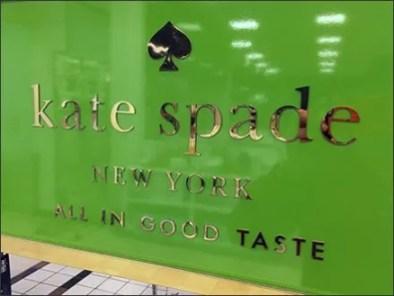 Kate Spade Tableware Display In Good Taste