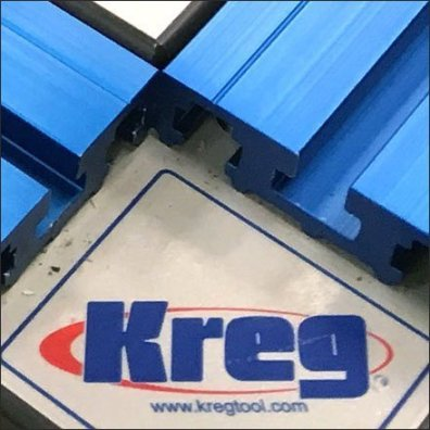 Kreg Clamp Table Full-Size Floor Display