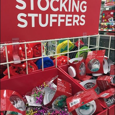 Stocking Stuffer Bargain Bulk Bins at Michaels