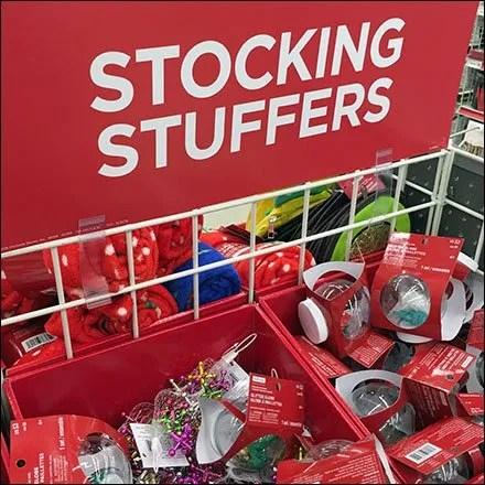 Michaels Stocking Stuffers Bargain Bulk Bins Feature