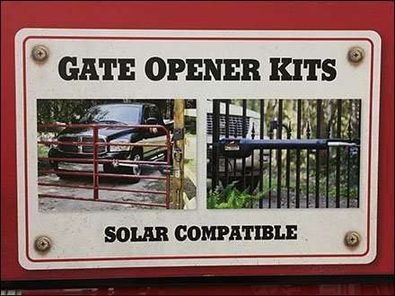 Mighty Mule Gate Openers Inline Display