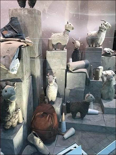 Brunello Cucinelli Mountain Goat Merchandising
