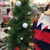 Cotton Ball Snowball Christmas Tree Ornaments