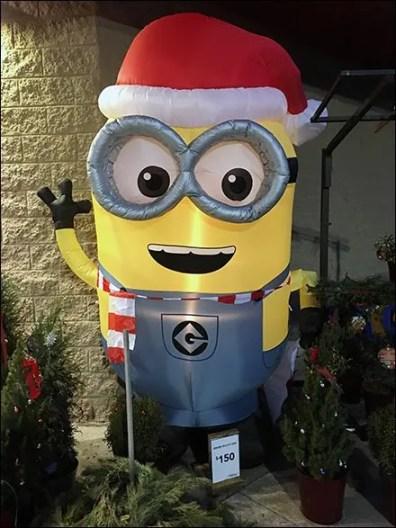 Minion Outdoor Inflatable Seasonal Welcome