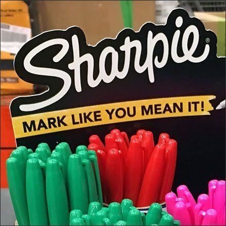 Sharpie Mark It Like You Mean It Table Top Display Feature