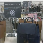 Tory Burch Designers Row Table Sign Stand