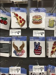 Applique Array All Wire Pegboard Hook Display