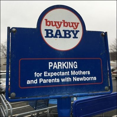 Buy Buy Baby Expectant Mother Parking Feature
