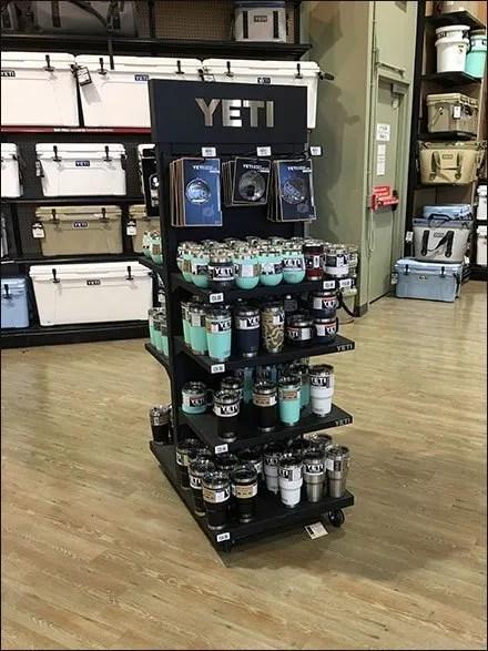 Yeti Premium Drinkware Solitary Tower Outfitting