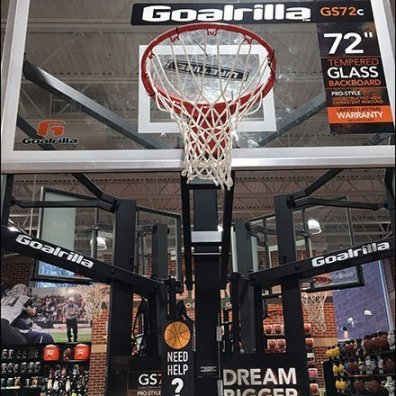 Dream Bigger Basketball Back Board Display
