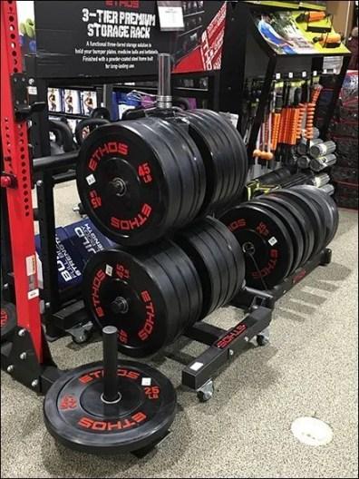 Ethos Cast Iron Weight Plate Upright Rack