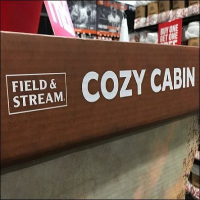 Field And Stream Cozy Cabin Corrugated Socks Display Square1