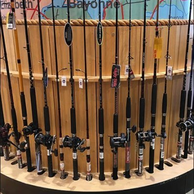 Fishing Rod Architectural Column Merchandising