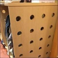 Gymboree Porthole Perforated Wood Pedestal