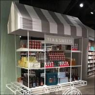 Tea and Sweets Cart at Indigo Bookstore